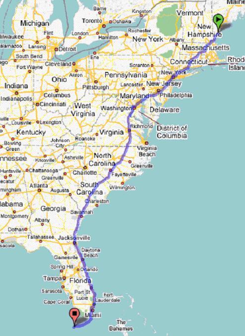 map of east coast i 95 Map Of East Coast Interstate 95 لم يسبق له مثيل الصور Tier3 Xyz map of east coast i 95
